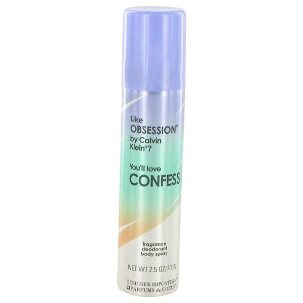 Parfums De Coeur - Designer Imposters Confess : Body Spray 2.5 Oz / 75 ml