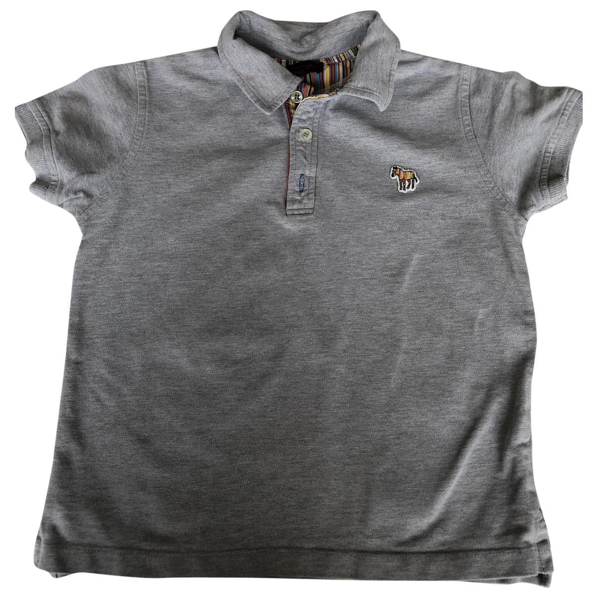Paul Smith - Top   pour enfant en coton - gris