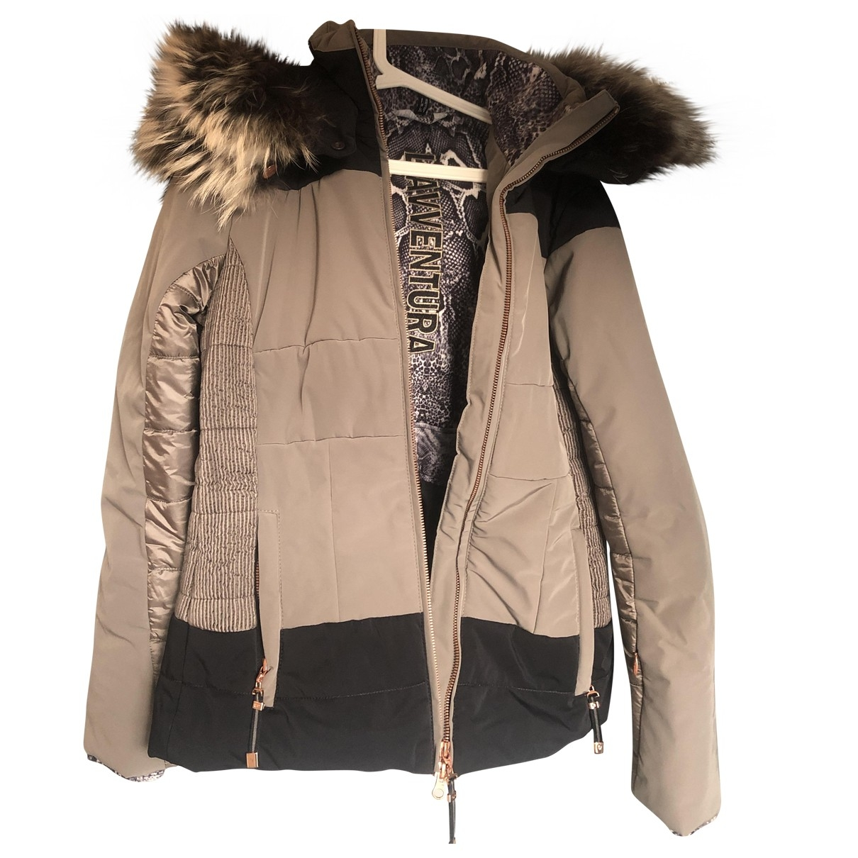 Non Signé / Unsigned \N Brown jacket for Women 40 FR