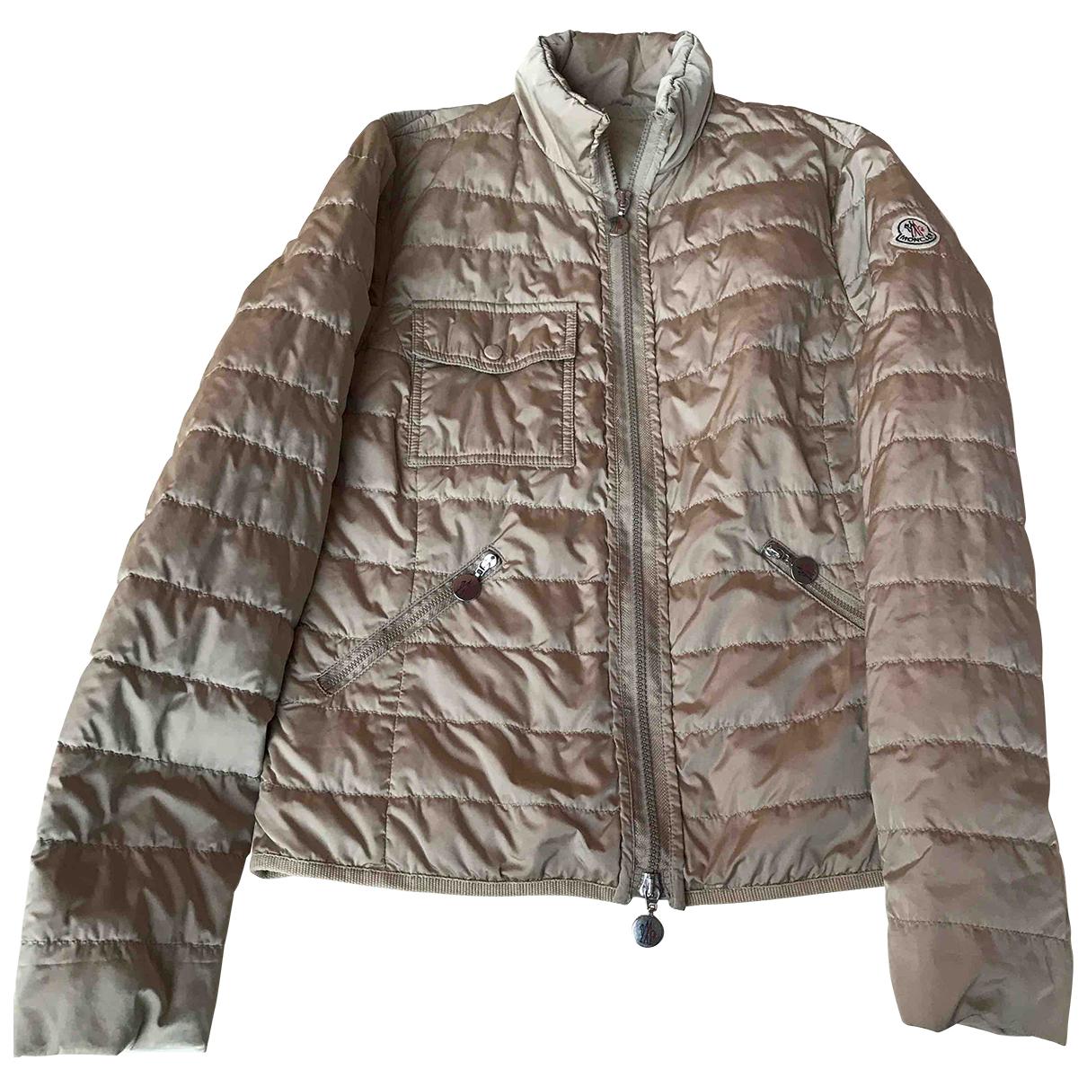 Moncler N Beige jacket for Women 2 0-5