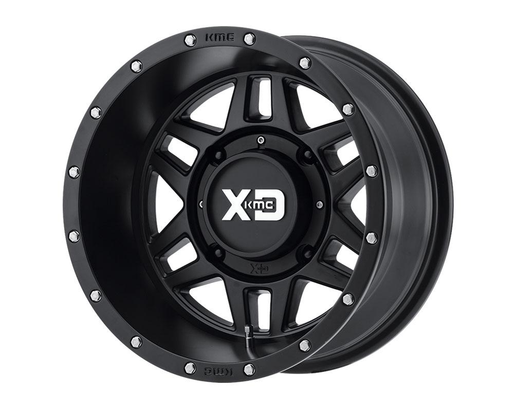 XD ATV XS128 Machete Wheel 15x7 4x4x115 +35mm Satin Black