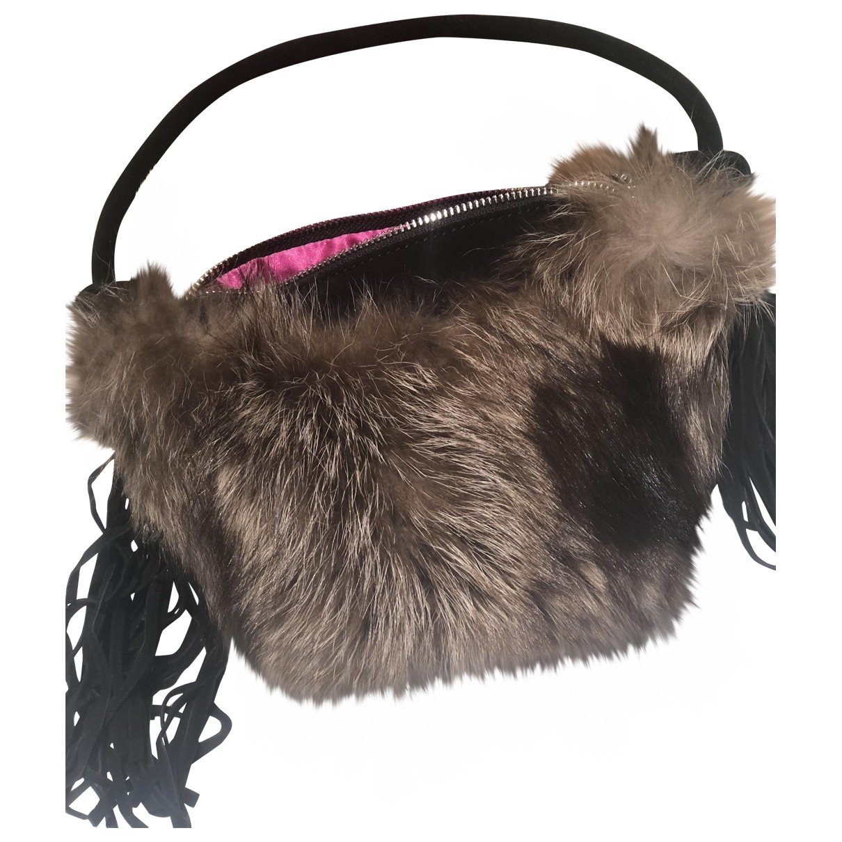 Sophie Habsburg \N Brown Fur handbag for Women \N