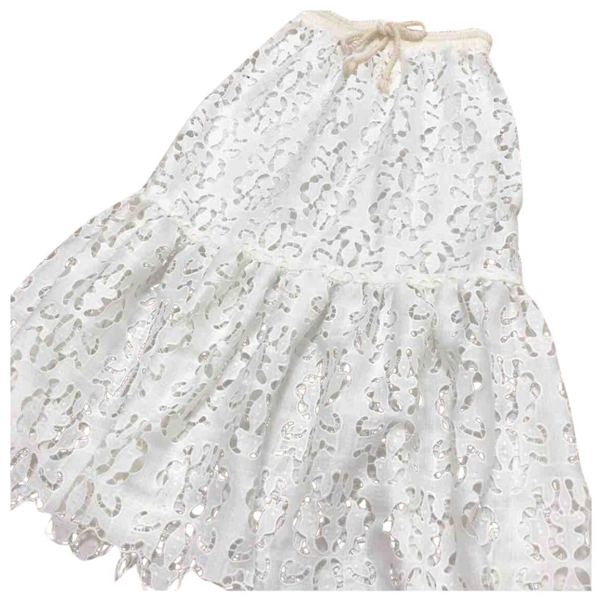 See By Chloé \N White Cotton skirt for Women S International