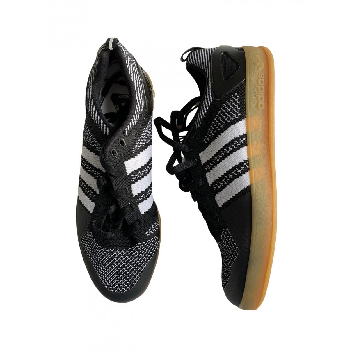 Palace X Adidas \N Sneakers in  Schwarz Leinen