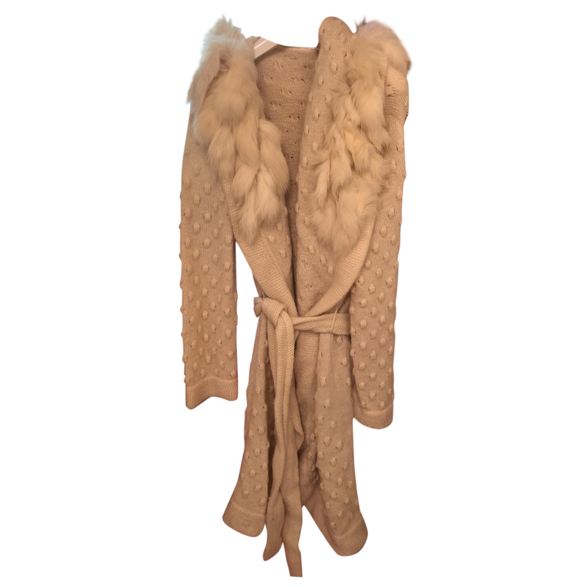 Escada N Beige Wool Knitwear for Women 40 FR