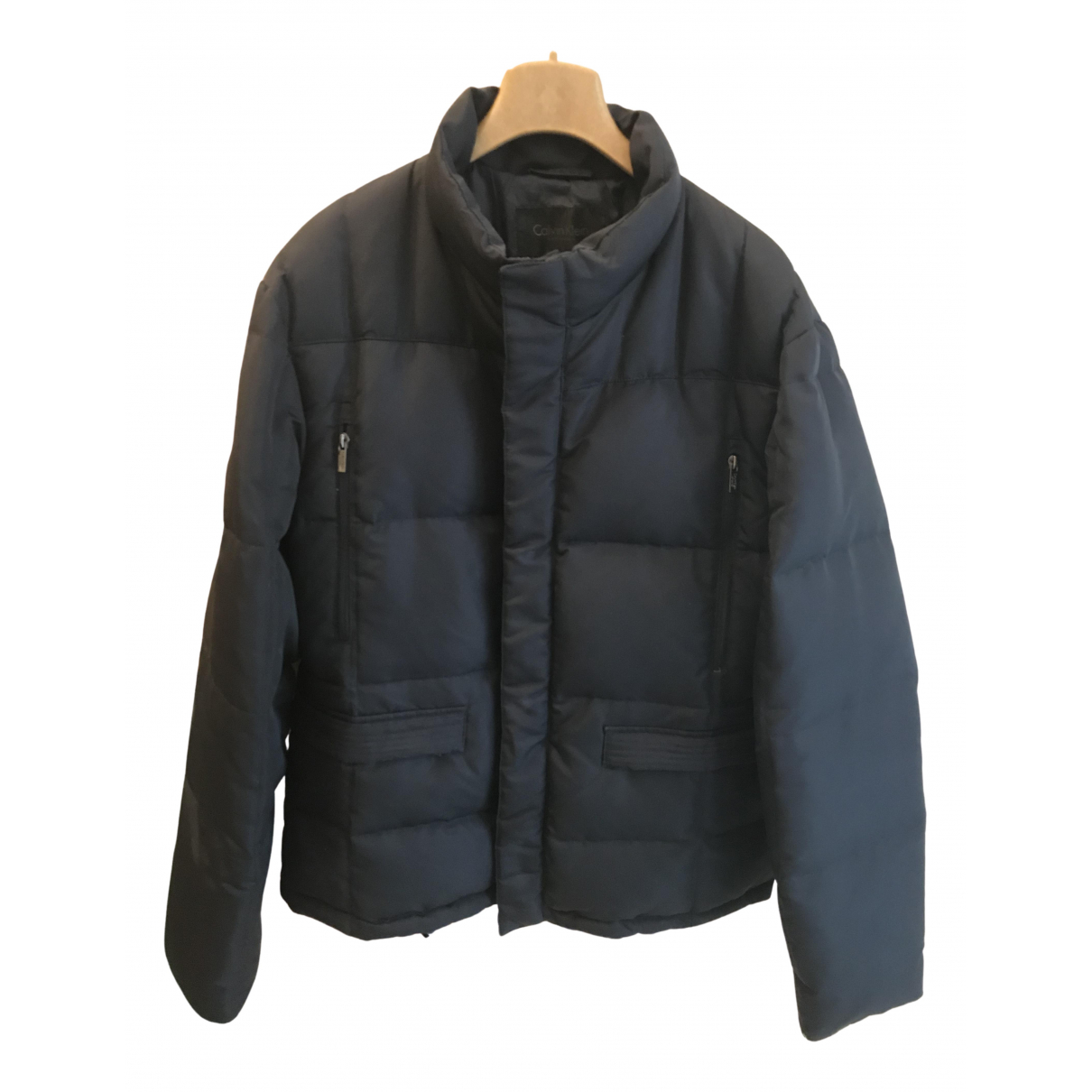Calvin Klein - Manteau   pour homme - bleu