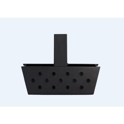 Go Rhino HS-10 Universal Hitch Skid Step (Black) - HS1012T