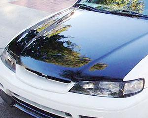 Advan Carbon BKHA94-AC225HCS OEM Style Carbon Fiber Hood Honda Accord V6 1994-1997