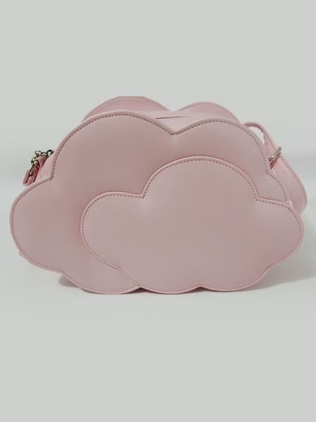 Milanoo Sweet Cloud Shape Loltia Messenger Bag