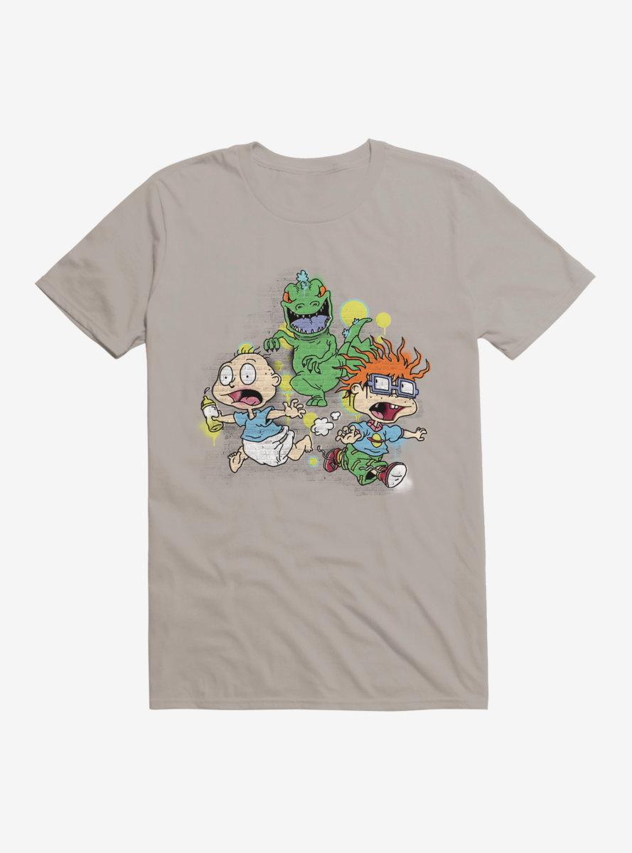 Rugrats Reptar Run Graffiti T-Shirt