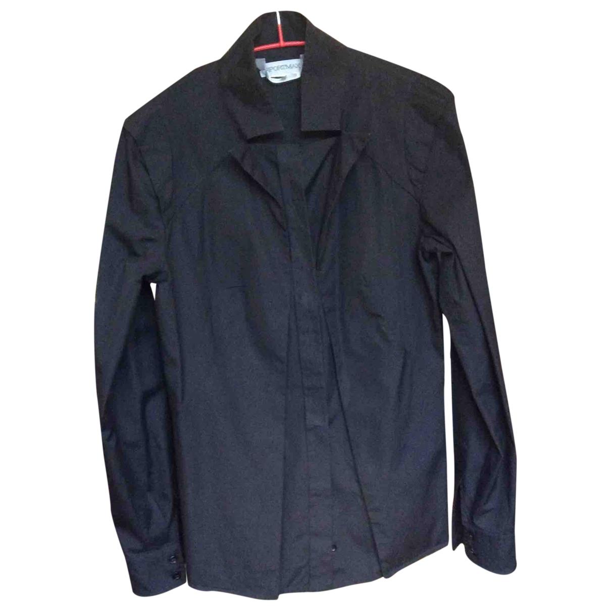Sport Max - Top   pour femme en coton - noir