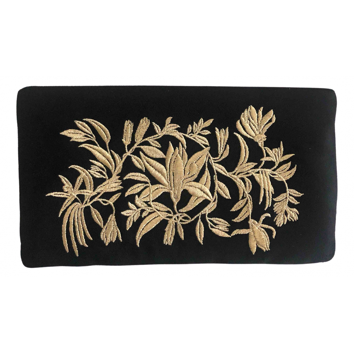 Bolsos clutch en Ante Negro Chanel