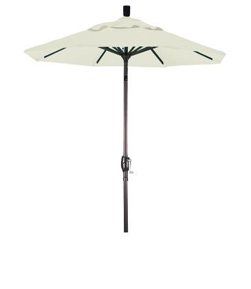 GSPT608117-5404 6' Pacific Trail Series Patio Umbrella With Bronze Aluminum Pole Aluminum Ribs Push Button Tilt Crank Lift With Sunbrella 1A Natural