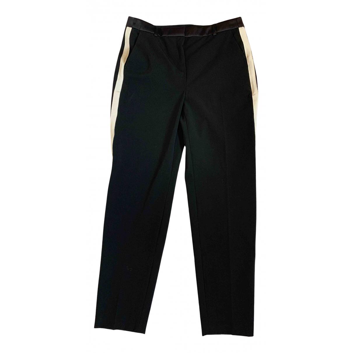 Karl Lagerfeld \N Black Trousers for Women 38 FR