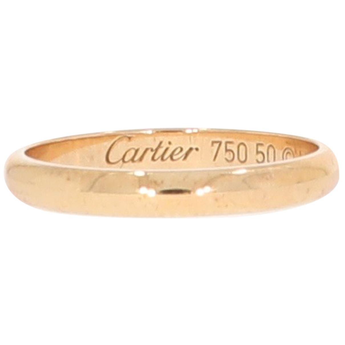 Cartier - Bague 1895 pour femme en or jaune - jaune
