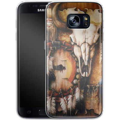 Samsung Galaxy S7 Silikon Handyhuelle - Teri Rosario - Echo of the Buffalo von TATE and CO