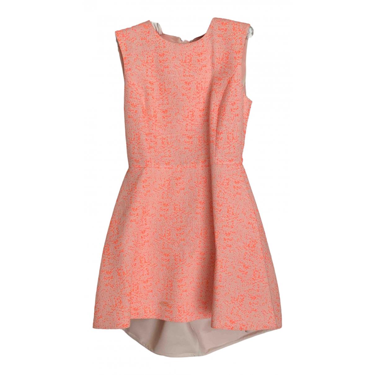 Dior \N Kleid in  Orange Baumwolle