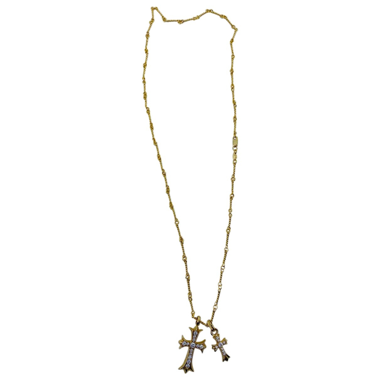 Chrome Hearts \N Gold Yellow gold necklace for Women \N