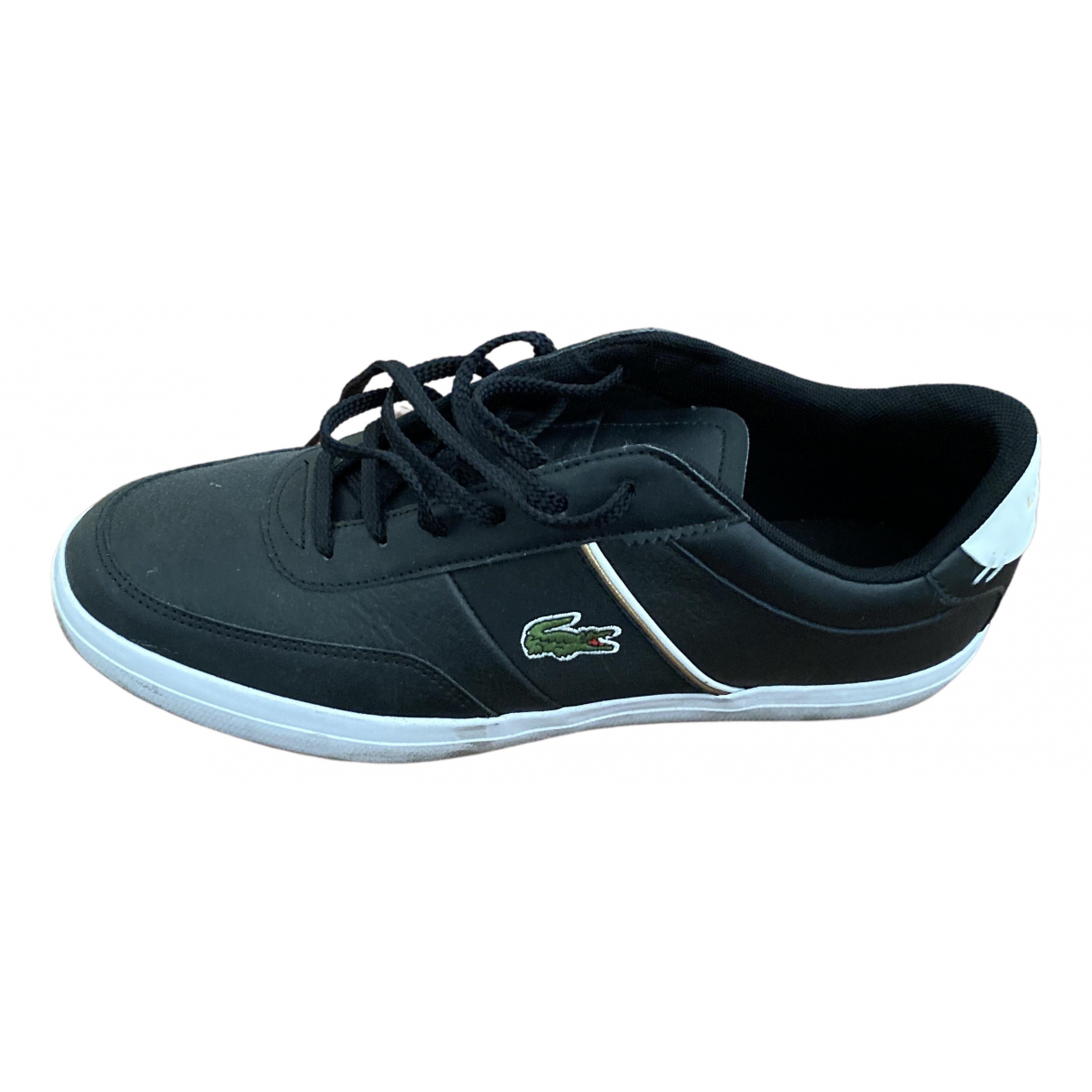 Lacoste \N Blue Leather Trainers for Men 40 EU