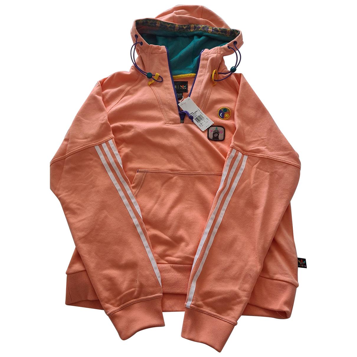 Adidas X Pharrell Williams \N Pullover.Westen.Sweatshirts  in  Orange Baumwolle