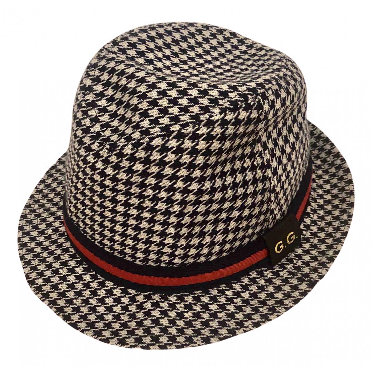 Gucci - Chapeau & Bonnets   pour homme en laine - marine