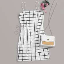 Cami Kleid mit Muster