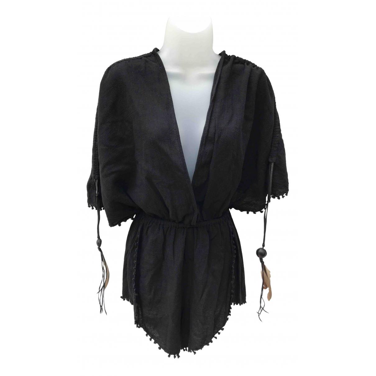 Caravane - Combinaison   pour femme en coton - noir