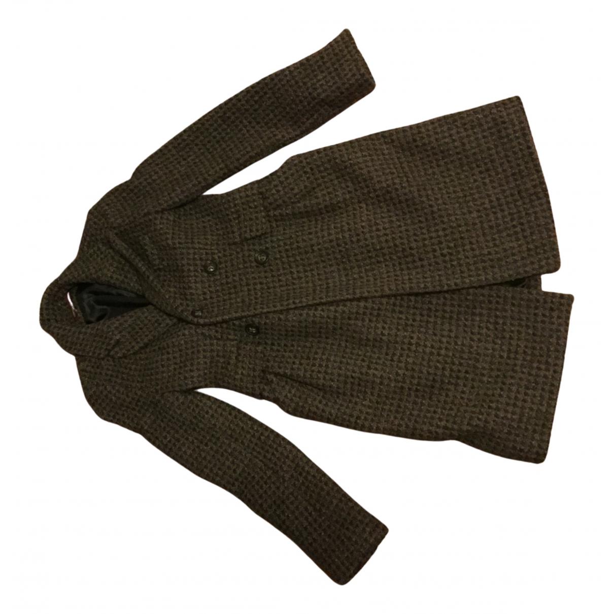 Comptoir Des Cotonniers \N Grey Wool coat for Women 34 FR