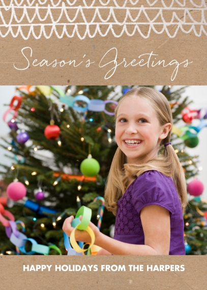 Holiday Photo Cards Flat Matte Photo Paper Cards with Envelopes, 5x7, Card & Stationery -Paper Post Greetings