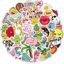 50pcs Cartoon Graphic Sticker