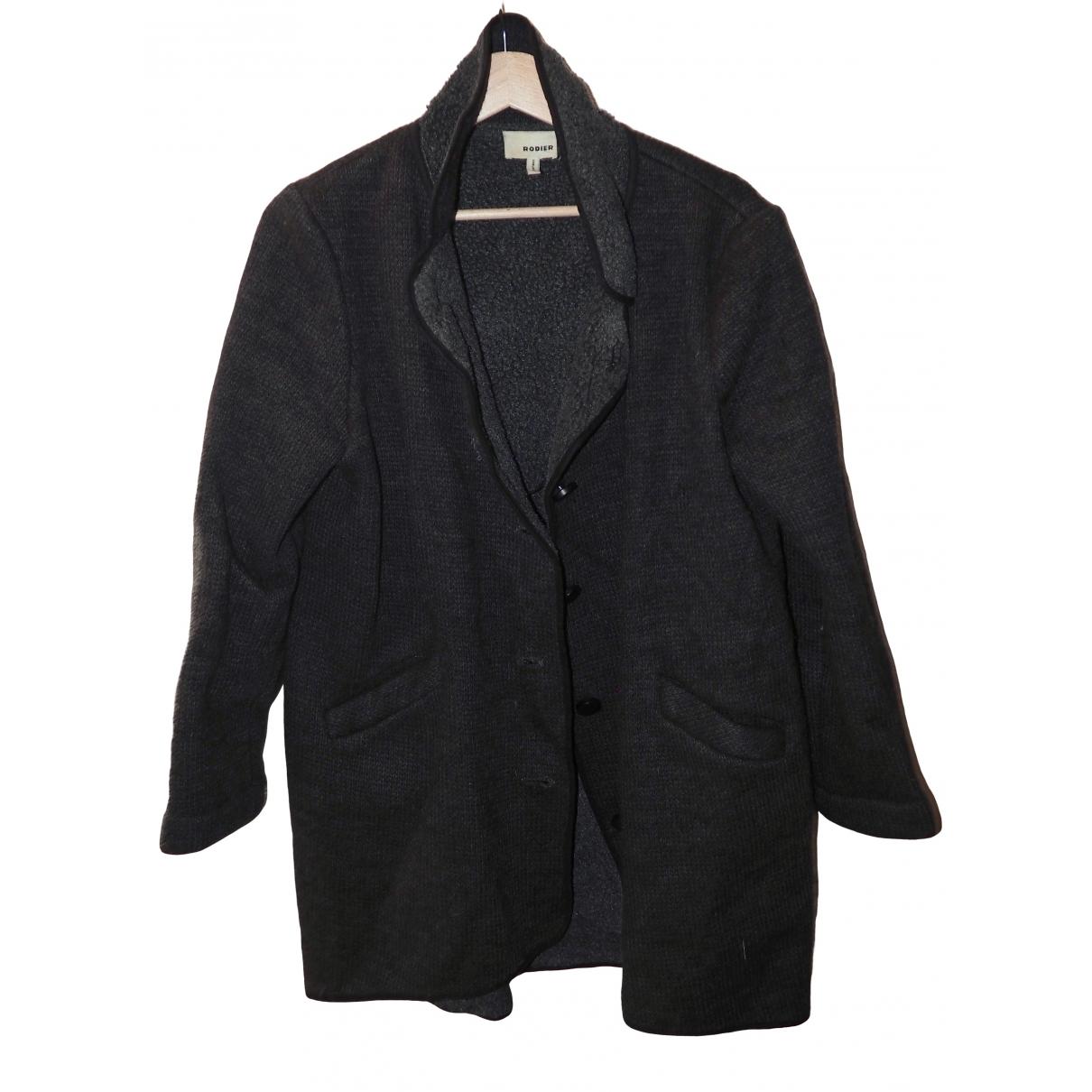 Rodier - Manteau   pour femme - gris