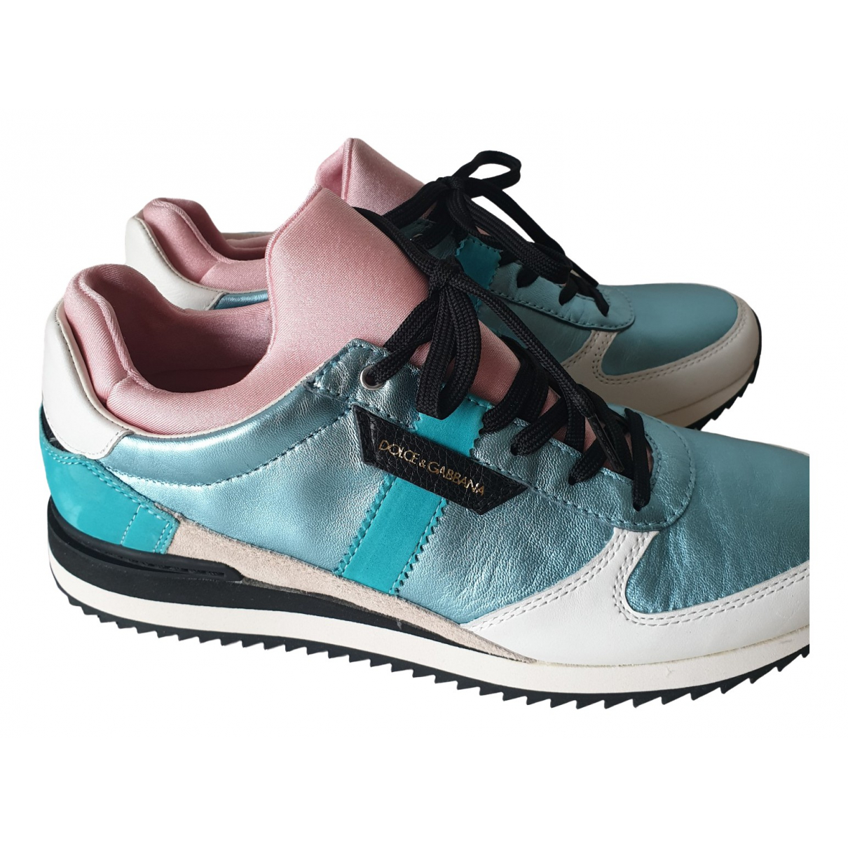 Dolce & Gabbana \N Multicolour Leather Trainers for Women 40 EU