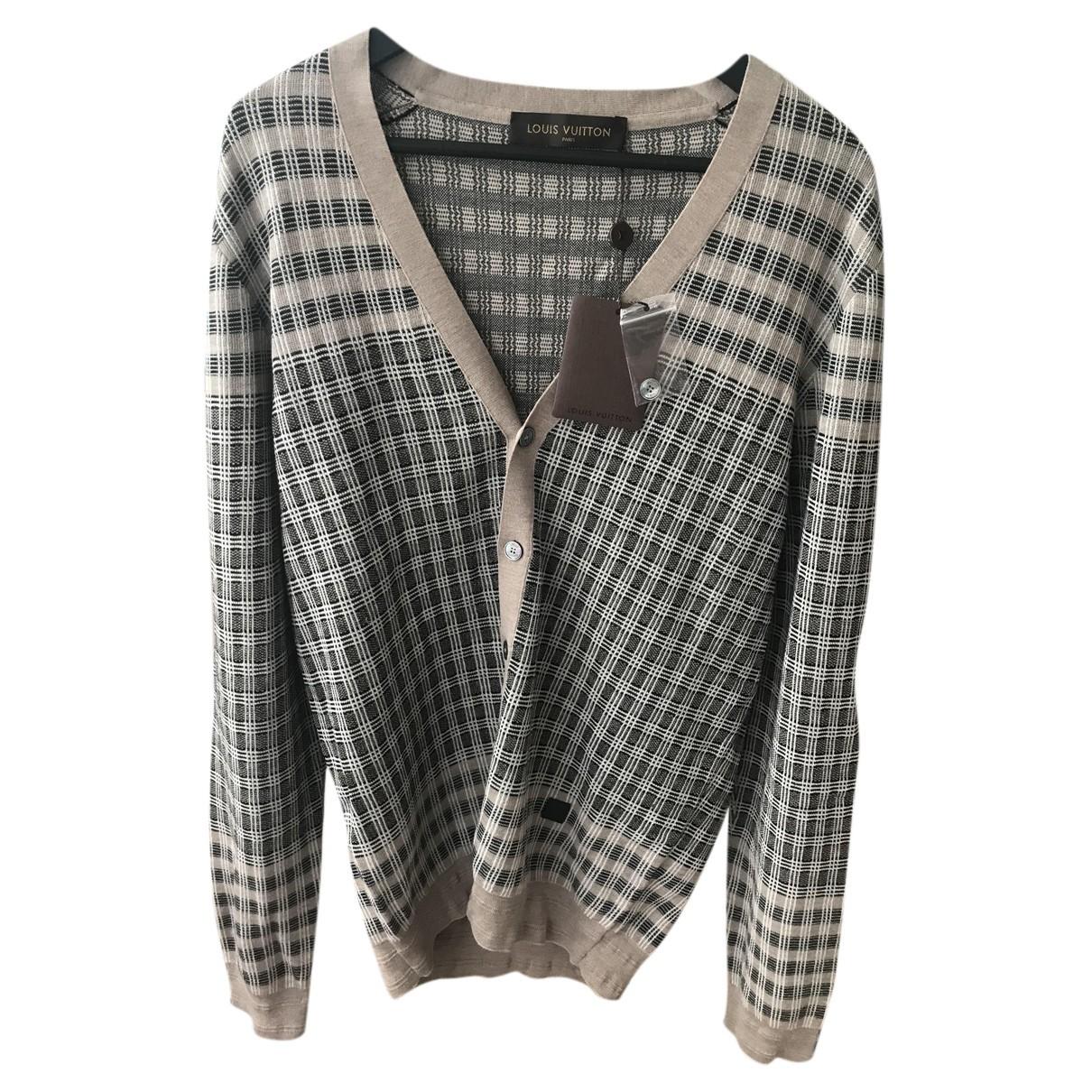 Louis Vuitton - Vestes.Blousons   pour homme en laine - marron