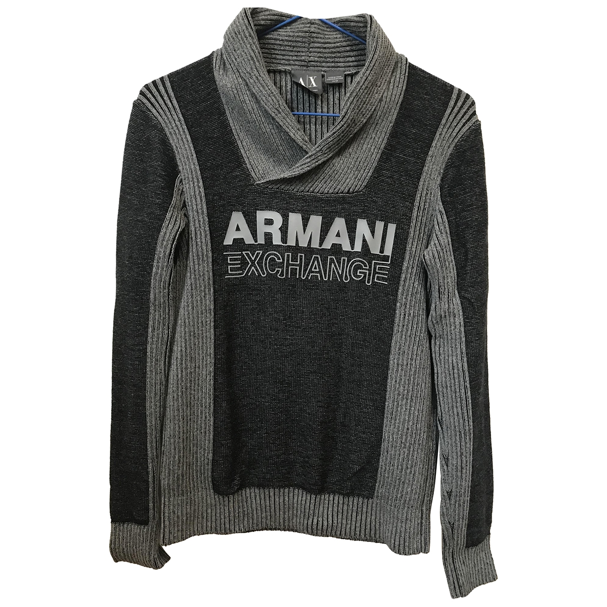 Emporio Armani \N Pullover.Westen.Sweatshirts  in  Grau Baumwolle