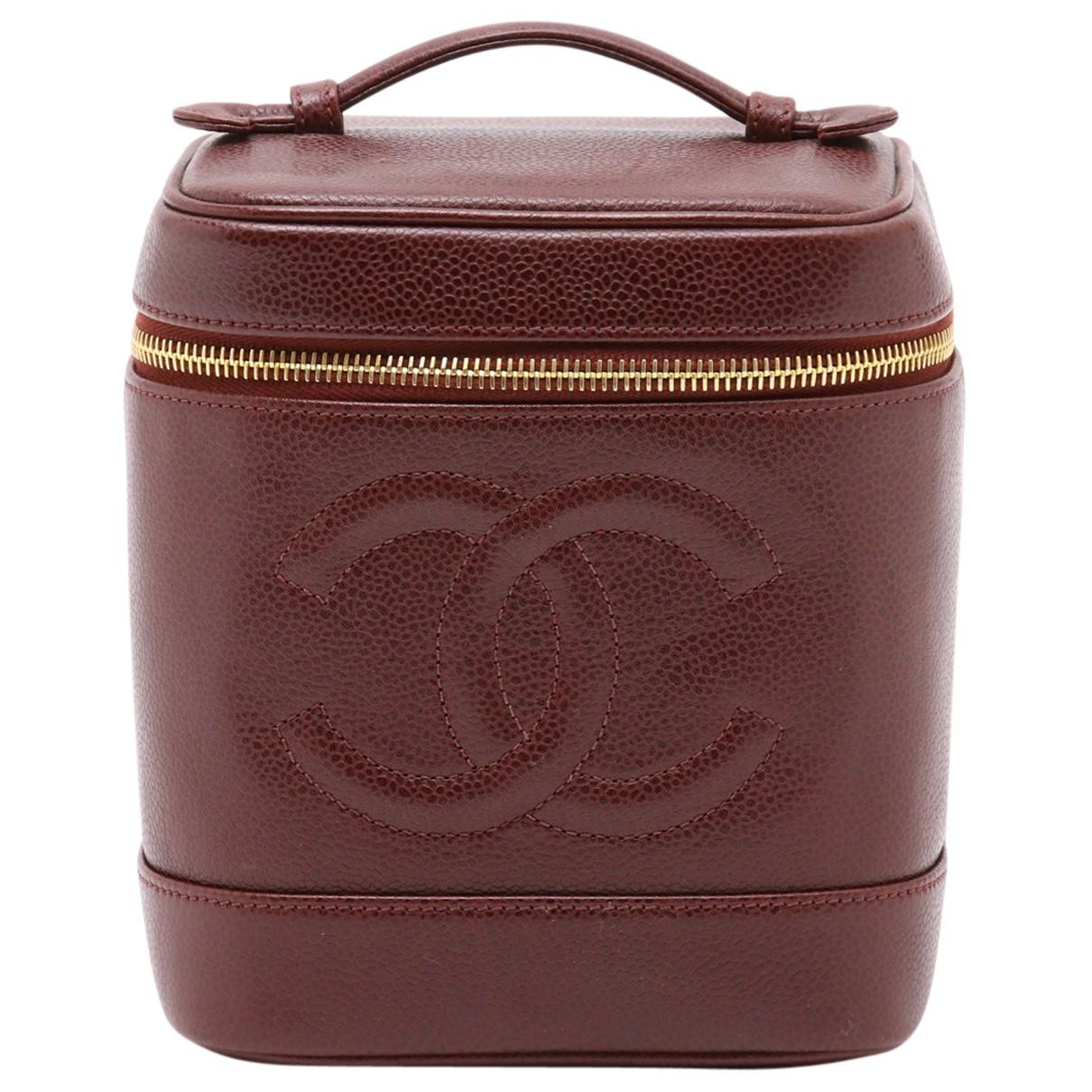 Chanel - Petite maroquinerie   pour femme en cuir