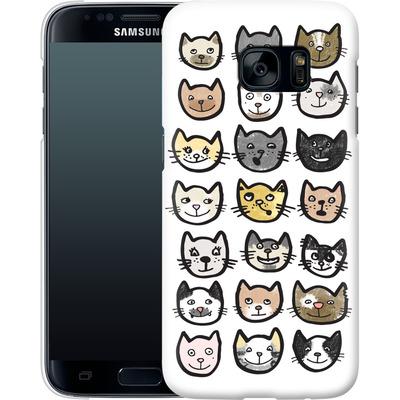 Samsung Galaxy S7 Smartphone Huelle - 28 Cats von caseable Designs