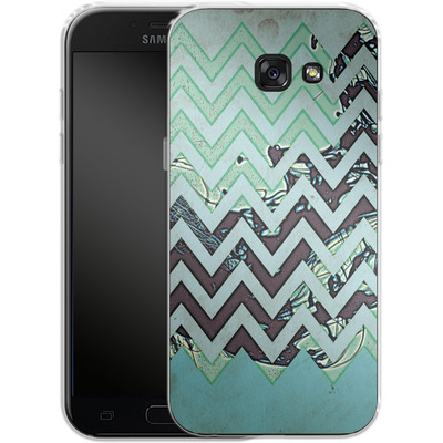 Samsung Galaxy A5 (2017) Silikon Handyhuelle - Electric Ink von caseable Designs