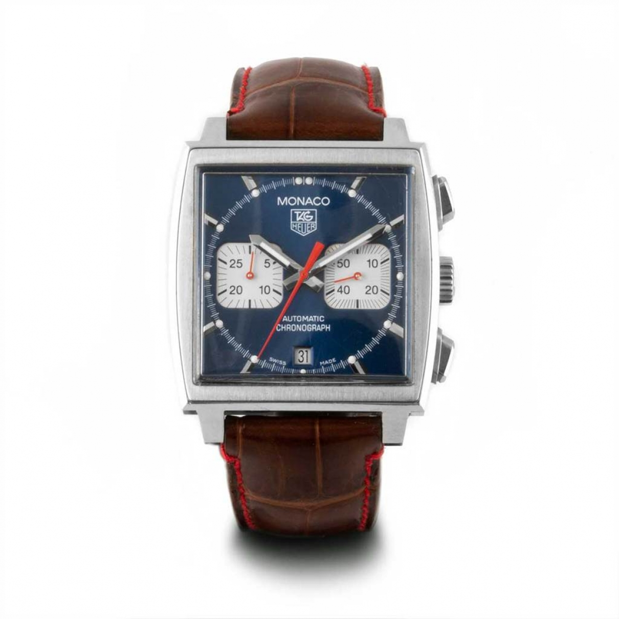 Tag Heuer Monaco Blue Steel watch for Men \N