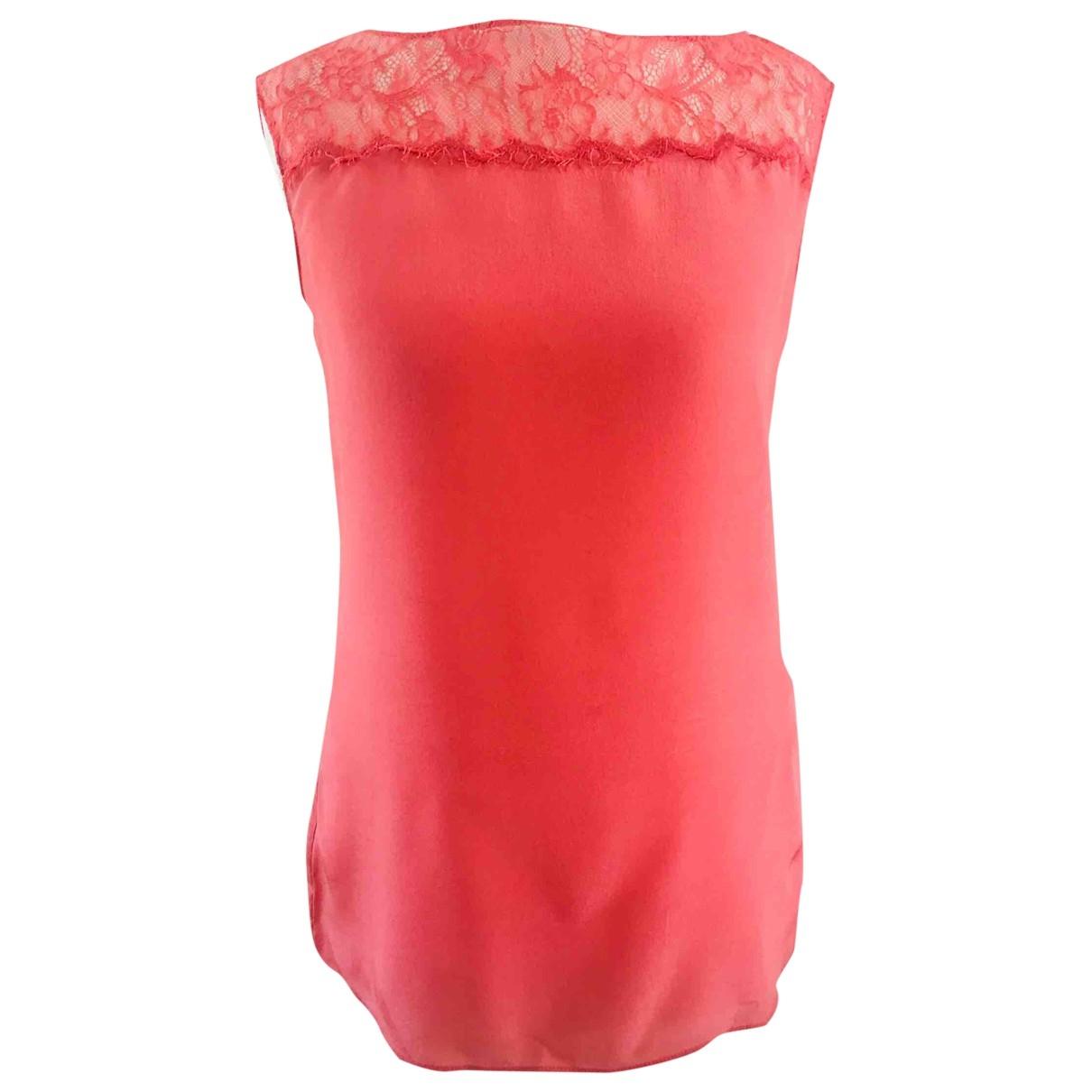 Lk Bennett \N Pink Silk  top for Women 6 UK