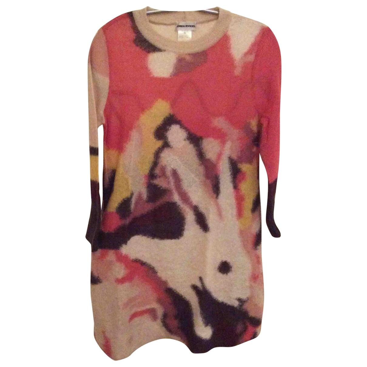 Sonia Rykiel - Robe   pour femme en laine - multicolore