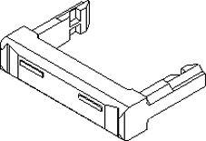 Molex , QF 50 Strain Relief Bracket 90170-0040 (5)