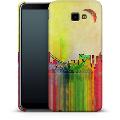 Samsung Galaxy J4 Plus Smartphone Huelle - San Francisco Skyline von Mark Ashkenazi