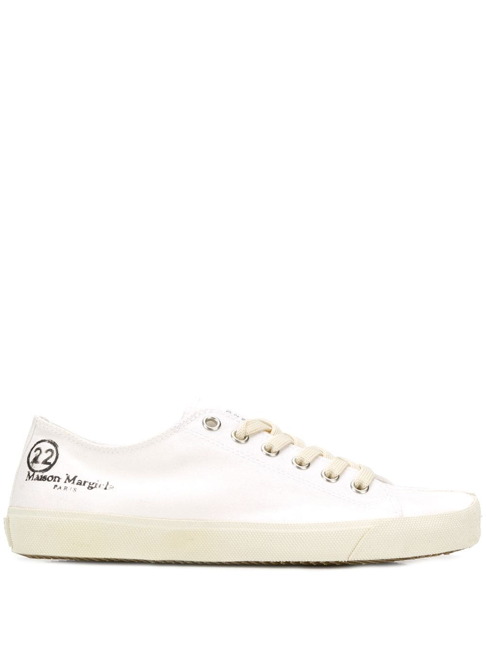 Cotton Tabi Low-top Sneakers