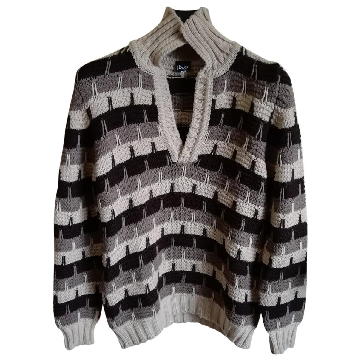 D&g \N Pullover.Westen.Sweatshirts  in  Bunt Wolle