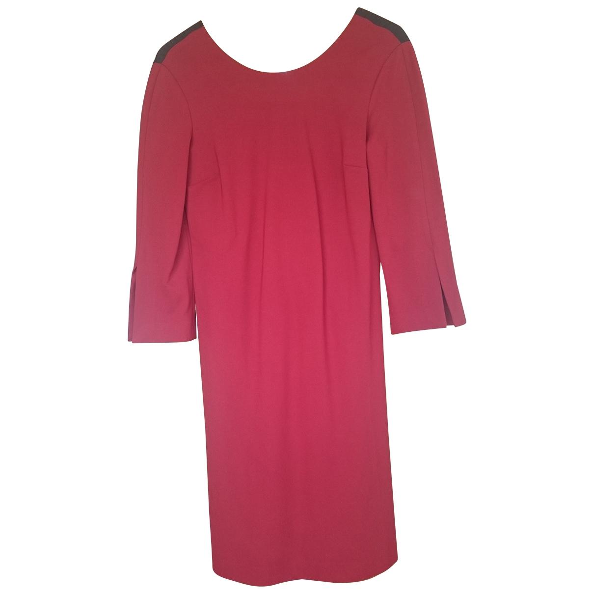 Liviana Conti \N Kleid in  Rot Viskose