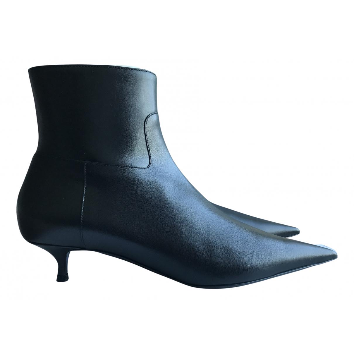 Botas Slash de Cuero Balenciaga