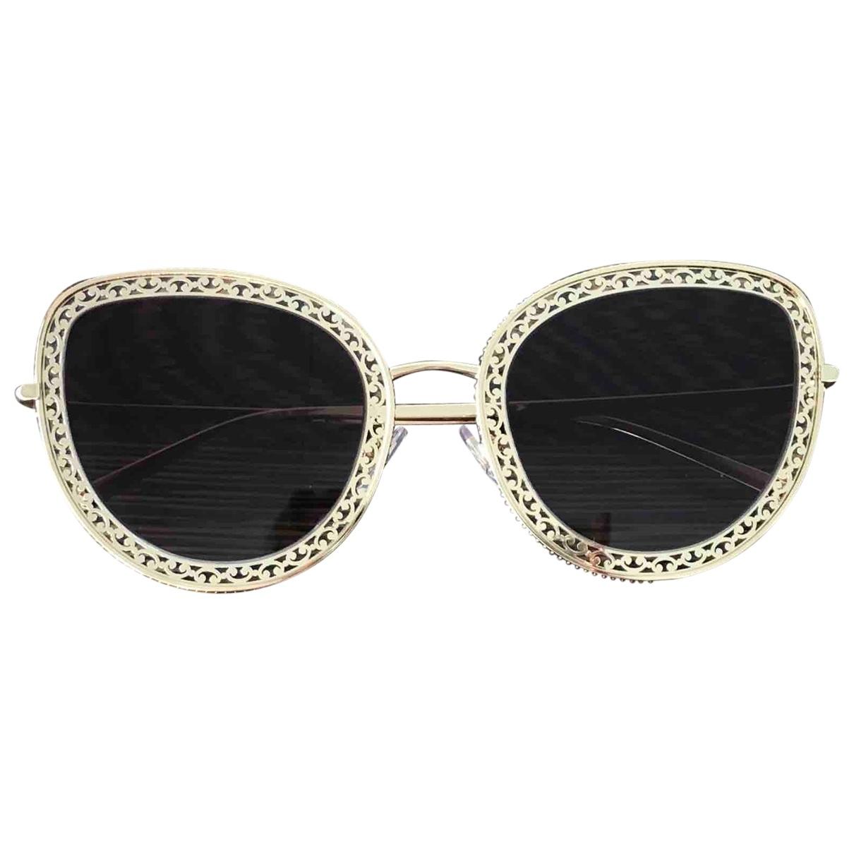 Dolce & Gabbana \N Gold Metal Sunglasses for Women \N