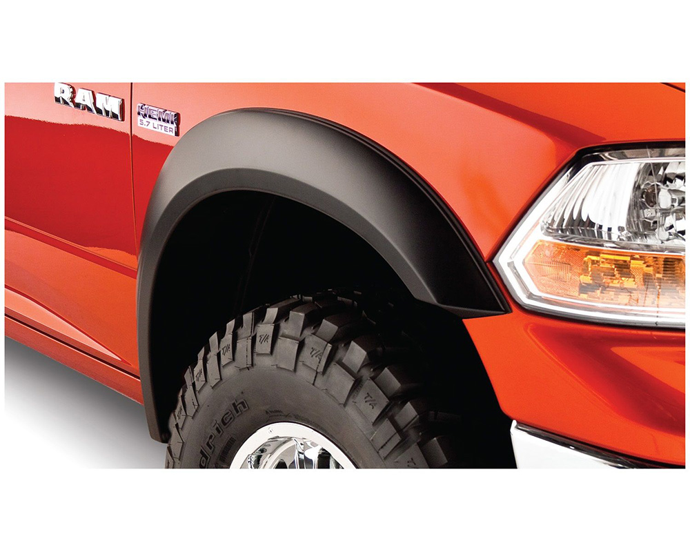 BUSHWACKER - FF EXTEND-A-FENDER STYLE 4PC Dodge Front and Rear