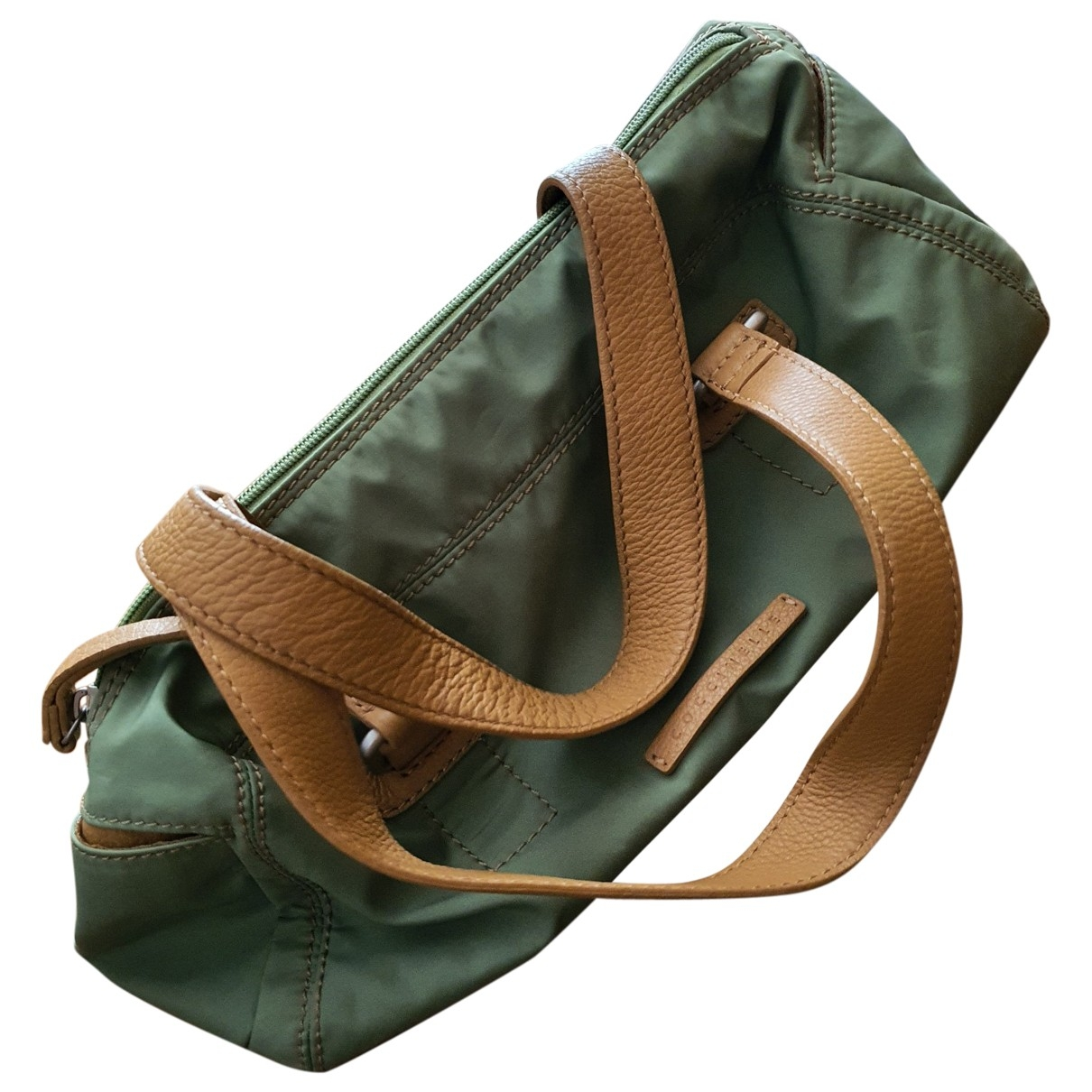 Coccinelle \N Green Cloth handbag for Women \N
