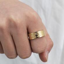 Maenner minimalistischer Ring